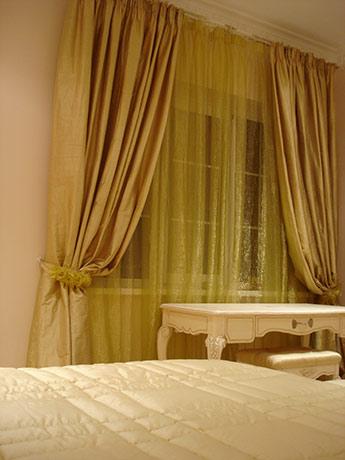 Спальня. Окно.